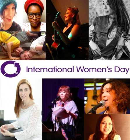 March 8, 2015 International Women's Day event in Tokyo.