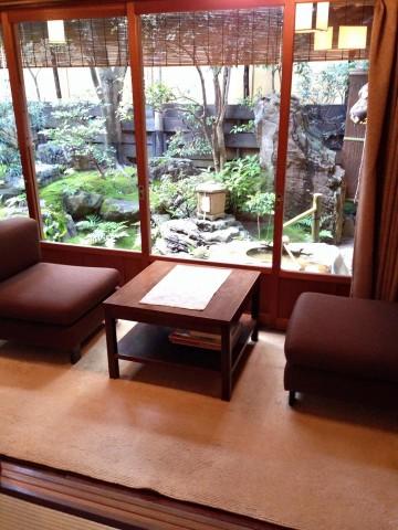 Yasunari Kawabata's room at a Kyoto inn