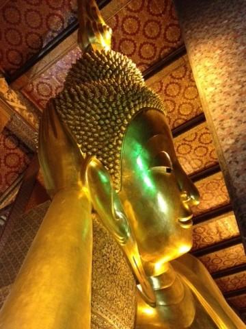 Buddha in Bangkok. Photo by Yuri Kageyama