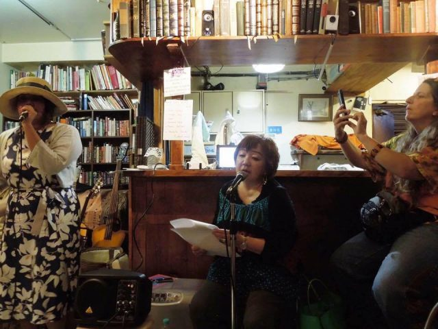 THE VERY SPECIAL DAY book party at Infinity Books in Tokyo SUN Aug. 7, 2016.