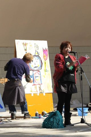 Our Reading of THE VERY SPECIAL DAY at Inokashira Koen SUN Oct. 23, 2016.
