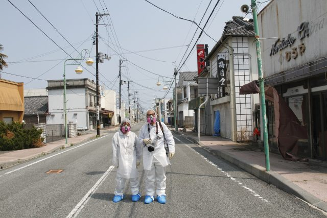 Yuri Kageyama reports from the no-go zone in Fukushima. Photo by Kazuhiro Onuki.
