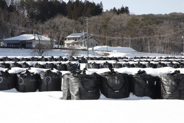 Decontamination efforts in Fukushima
